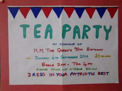 Queen's 90th Tea Party