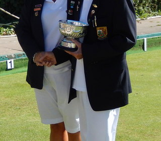 Diane Hallam - Runner up, Ladies' 3 Woods Final