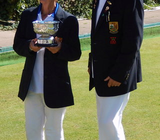 Marilyn Gibbons - Winner, Ladies' 3 Woods Final