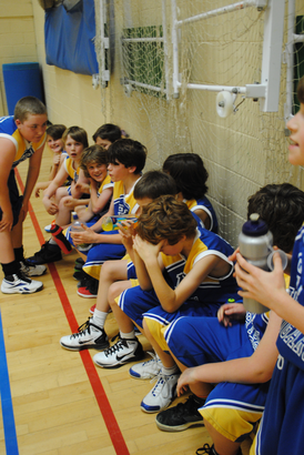 Time out on the bench