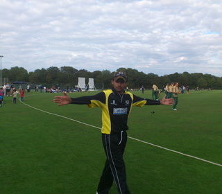 PTCC Midlands t20 finals day: Bash Hussain