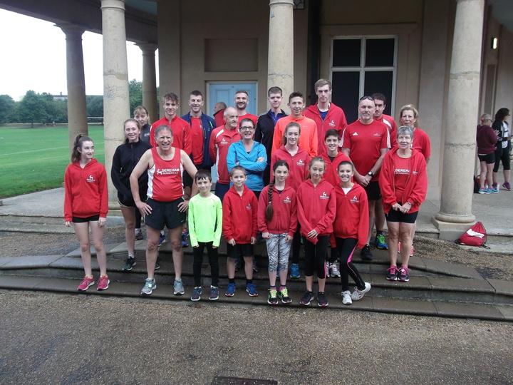 Dereham Runners at Norwich parkrun 1st, October, 2016.