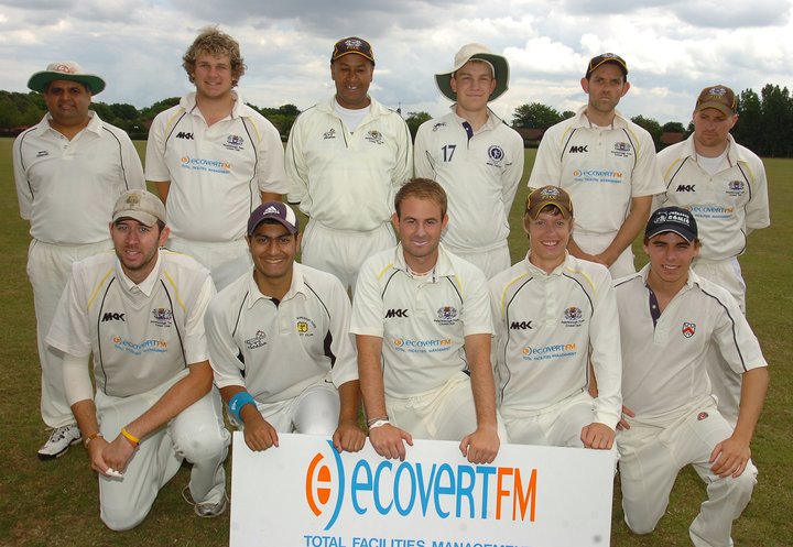 Saturday 2nd XI who won promotion to Northants Division 2 (2nd promotion in 3 seasons)