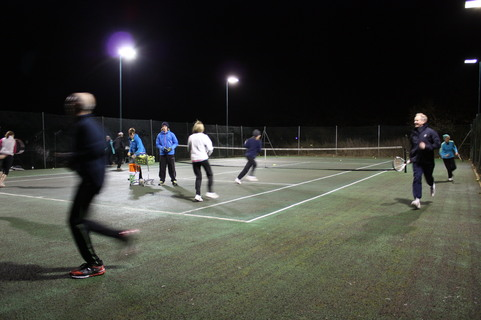 Winter Cardio Tennis at GMLTC
