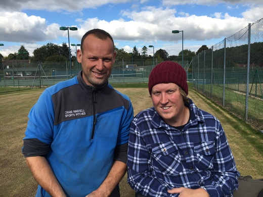 GMLTC Grounds Team: Craig and Colin