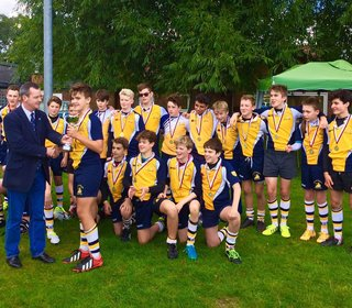 U14s win at Ruislip, 2 October 2016