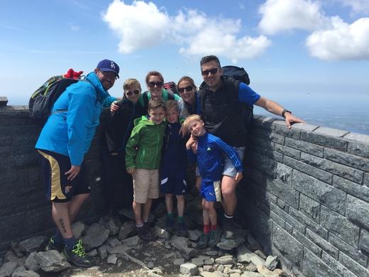 Snowdon climb
