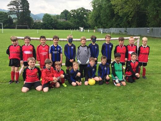 Snowdon football match