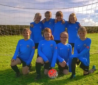Girls Under 10's Team Photo