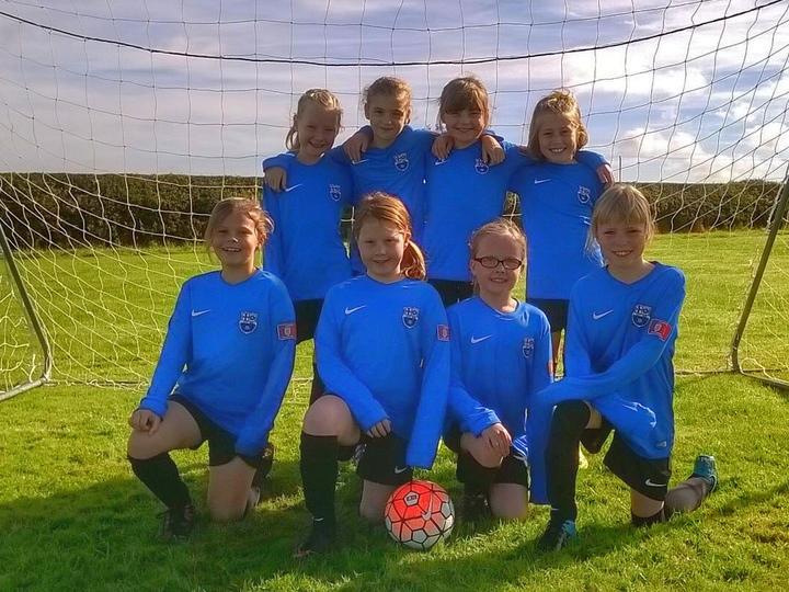Girls Under 10's Team Photo