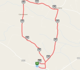 Trim 10 mile route