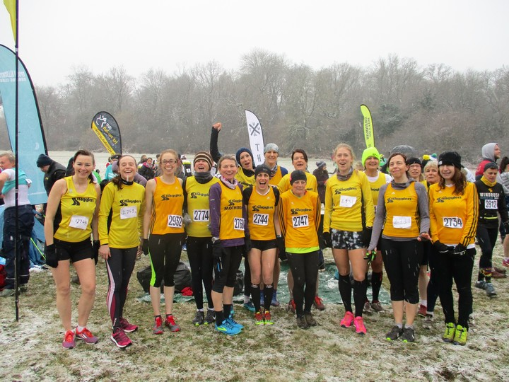 SL4 XC Ladies - Coulsdon 11/2/17