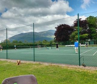 Junior match at Braithwaite!