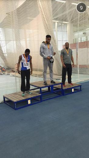 Silver for 60m Indoors at London Games