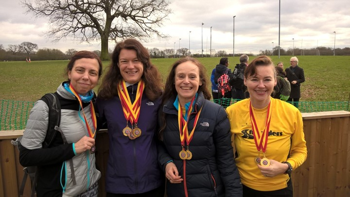 More medals for the Ladies!