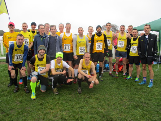 SL2 XC Mens - Epsom Downs 12/11/16