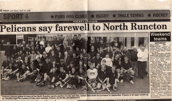 The Club leaves Runcton