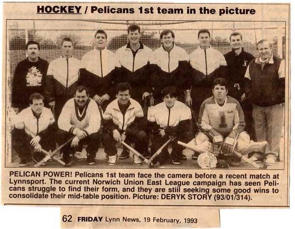Mens 1st XI 1993