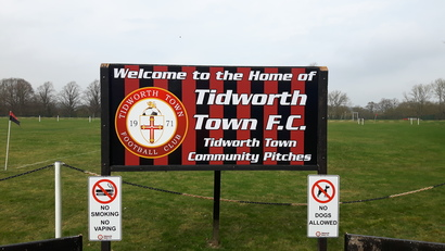 Home Ground Sign