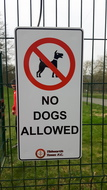 Dogs Sign