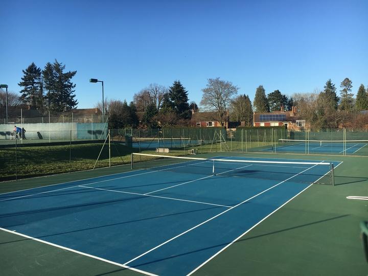 Acrylic hard courts a la US Open and Australian Open grand slams
