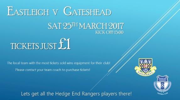 Eastleigh v Gateshead
