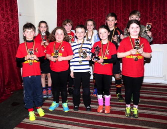 Junior award winners