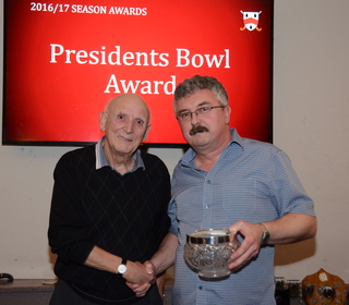 Presidents Bowl Award - Roger Cooper