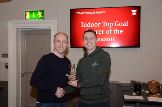 Indoor Top Goal Scorer - Matthew Griffiths