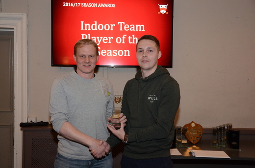 Indoor Player of the Season - Darryl Ablard