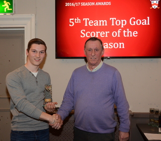 5th Team Top Goal Scorer - James Fisher