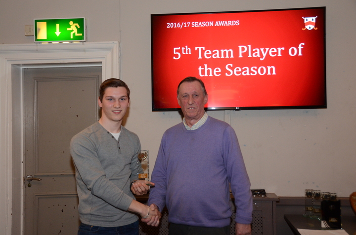 5th Team Player of the Season - James Fisher