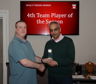 4th Team Player of the Season - Ian Dillworth
