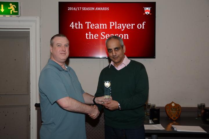4th Team Player of the Season - Ian Dillworth