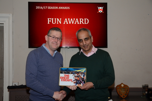 Joke Award - Gary O'Sullivan