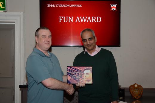 Joke Award - Ian Dillworth