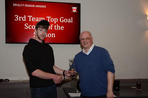 3rd Team Top Goal Scorer - Martin Jandu