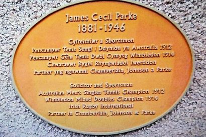 James C Parke Plaque