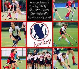 NEXT PLAY OFF - 9 APRIL 2017 - ST LUKES SPORTS & SCIENCE COLLEGE, EXETER