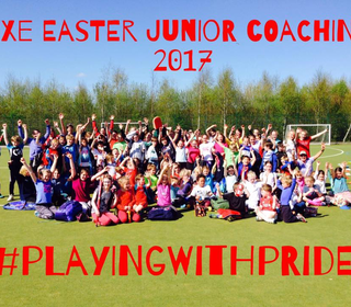 Exe Easter Junior Coaching Day - April 2017