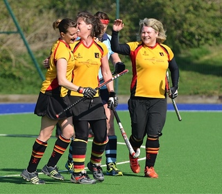 """Sarah """"Browner"""" Strevens breaks the deadlock with the 2's first goal"""