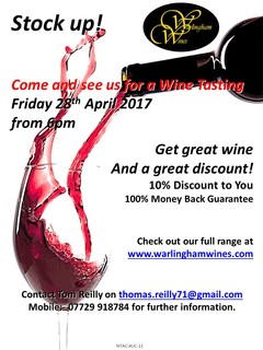 April 2017_Wine Tasting Flyer