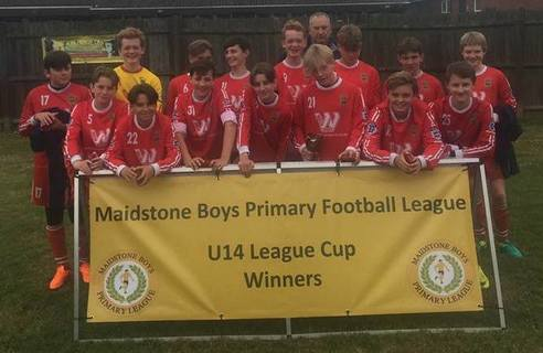 Under14s Cup Winners