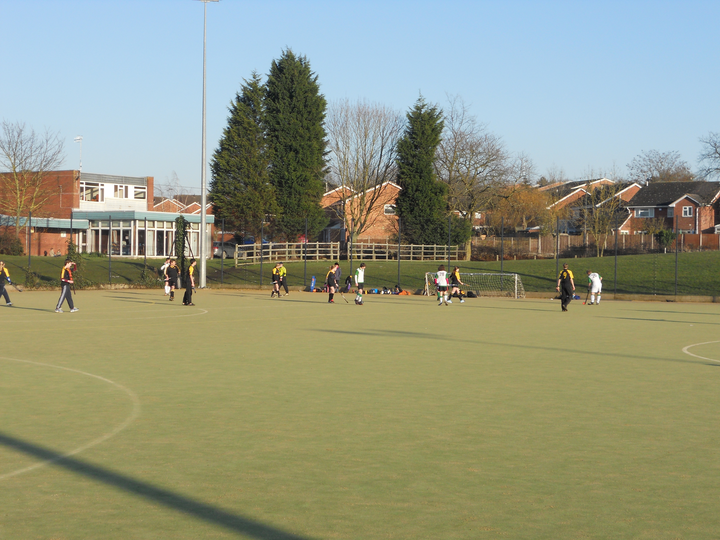 When most hockey was off for frost, great to get a game at Droitwich