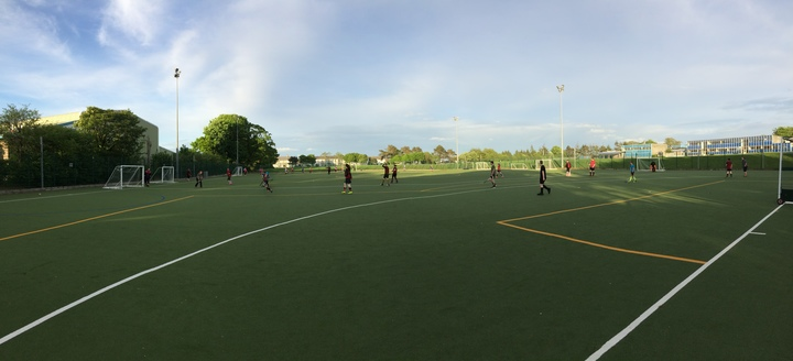 Mini matches umpired by some U16s
