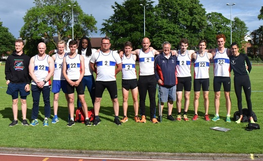 Senior Men T & F Team