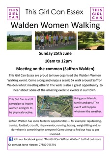 Walden Women Walking poster