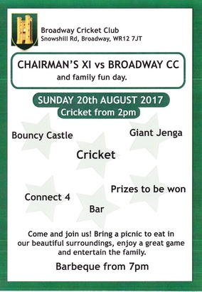 Chairmans Game Poster