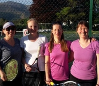 Ladies 2 match on 16/05/2017 : Sally, Jane, Timmi & Gillian
