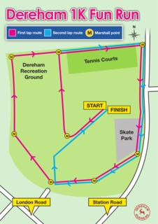 1K Fun Run Route